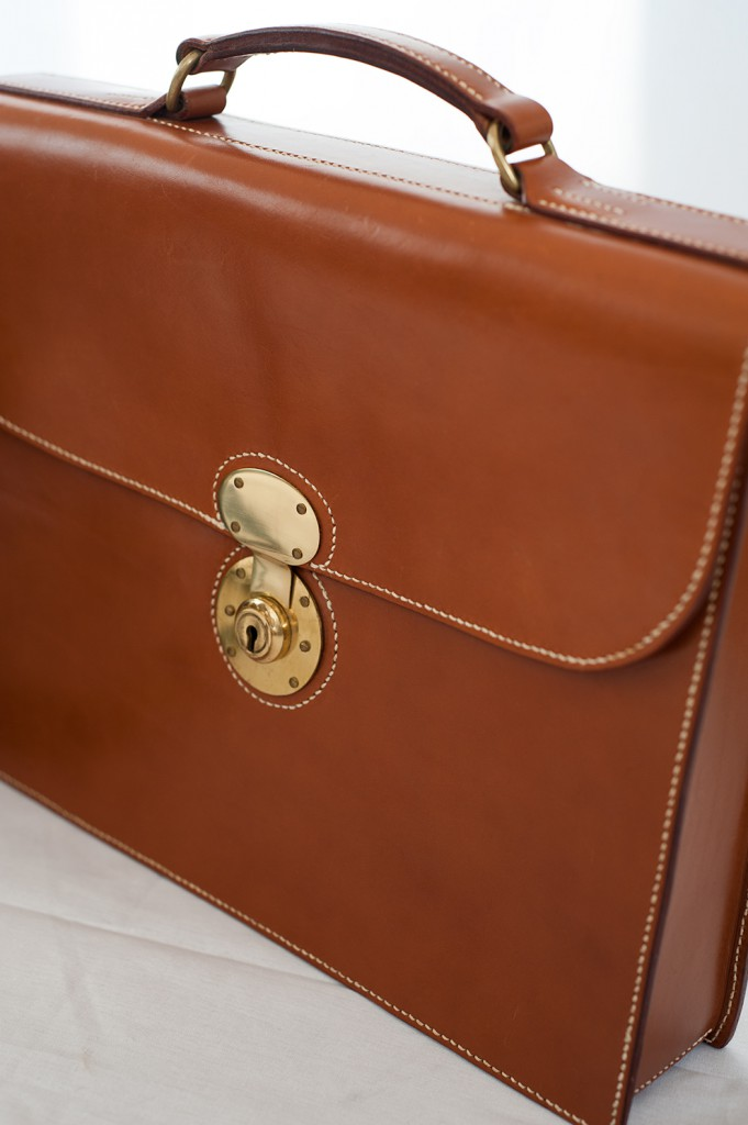 Lymington Chestnut Small Briefcase