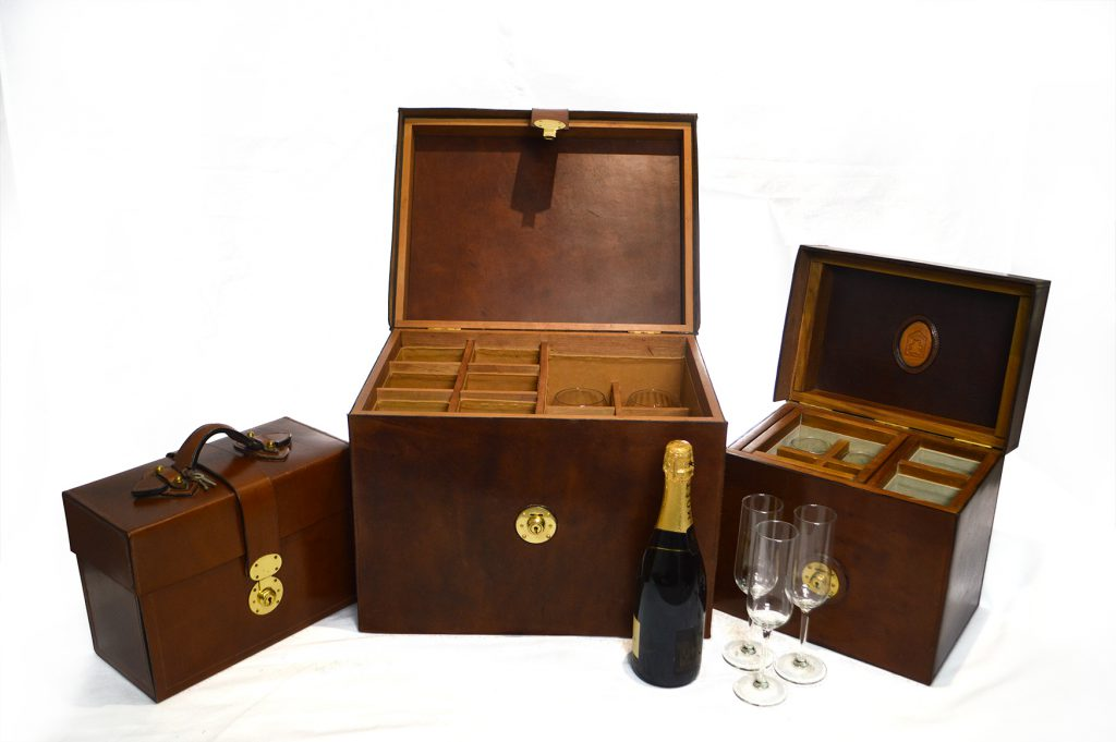 Wine Boxes:- Various sizes of Wine Box