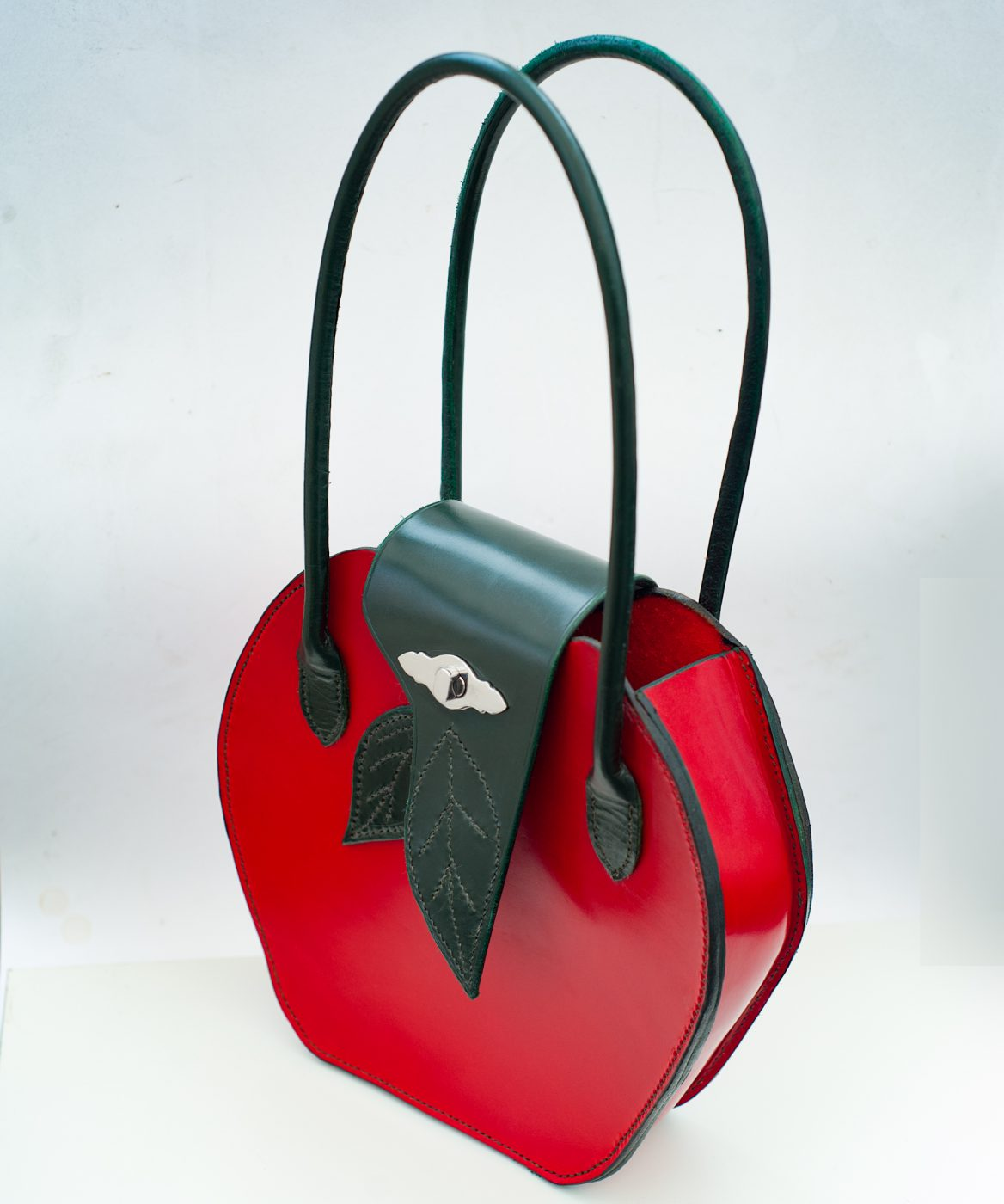 Red and Green Apple bag